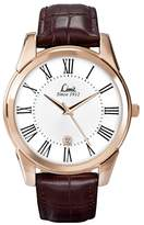 Limit Rose Gold Plated Brown Strap Watch 5453.02