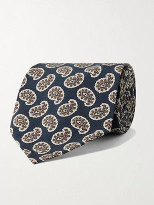 Rubinacci 8cm Paisley-Print Silk Tie