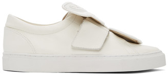 Sophia Webster White Butterfly Sneakers