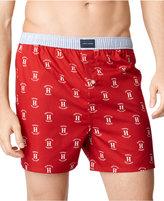 Tommy Hilfiger Men's Underwear, Logo Printed Boxer