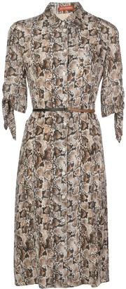 Altuzarra Narcissa belted shirt dress