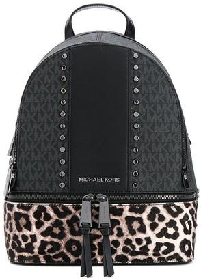 MICHAEL Michael Kors Rhea leopard print backpack