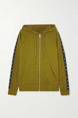 Nike Get Fit Dri-fit Cotton-blend Hoodie - Green