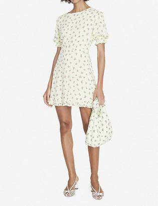 Faithfull The Brand Florence floral-print crepe mini dress