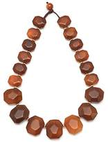 Lola Rose Elemental Chunky Nugget Rust Montana Agate Necklace of 48cm