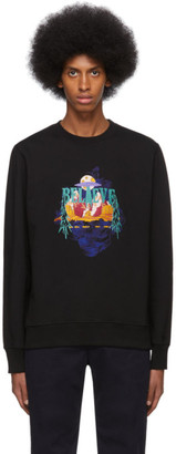 Paul Smith Black UFO Believe Sweatshirt