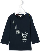 Paul Smith alien glowing print T-shirt - kids - Cotton - 6 mth