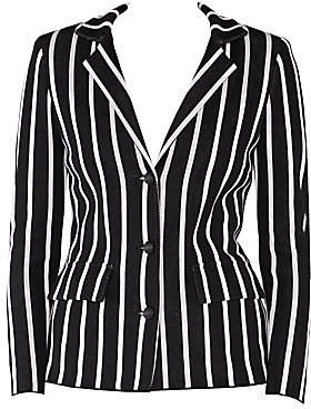 Stizzoli, Plus Size Women's Striped Blazer