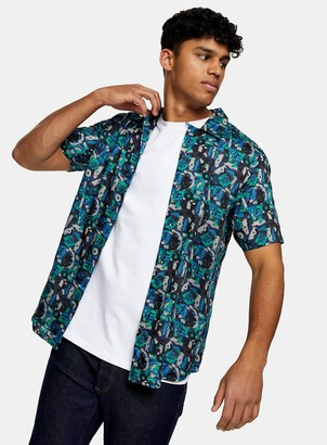 Topman ONLY & SONS Printed Shirt