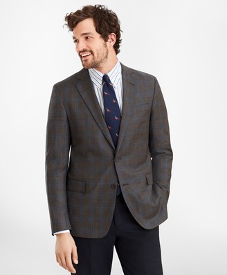 Brooks Brothers Regent Fit Multi-Plaid Sport Coat