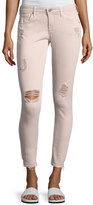 AG Adriano Goldschmied Farrah Skinny Ankle Interstellar Worn Sandalwood Jeans, Khaki