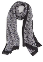 Tory Burch Women's Block T Logo Scarf