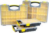 STALWART Stalwart 4-Box Parts and Crafts Portable Storage Organizer Set