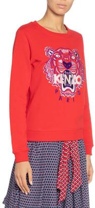 Kenzo Tiger Logo Slim Sweatshirt