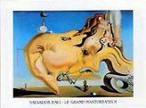 The Great 1art1 Posters: Salvador Dali Poster Art Print Masturbator, 1929 (12 x 9 inches)