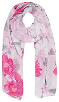 Oasis Neo Floral Print Scarf, Multi