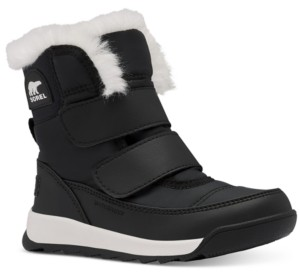 Sorel Little Kids Whitney Ii Strap Boots Women's Shoes