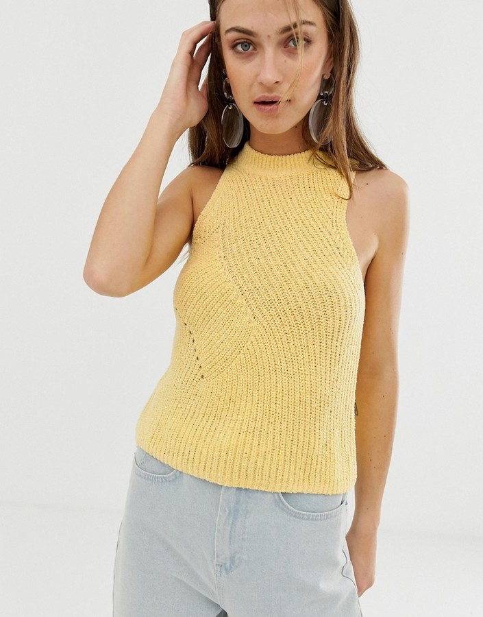 ASOS boucle knitted tank top