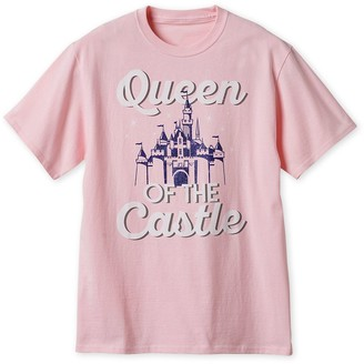 Disney Fantasyland ''Queen of the Castle'' T-Shirt for Adults Disneyland