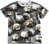 Molo Ball Print Cotton Jersey T-Shirt