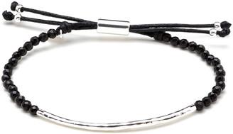 Gorjana Power Gemstone Black Onyx Bracelet for Protection, Silver
