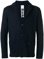 Bark patch pockets knitted blazer - men - Cotton - M