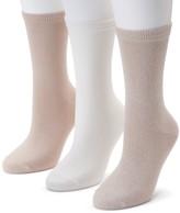 Sonoma Goods For Life Women's SONOMA Goods for Life 3-pk. Soft & Comfortable Crew Socks
