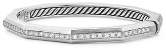David Yurman Stax Faceted Bracelet with Diamonds