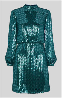 Whistles Dena Sequin Dress