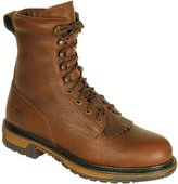 Rocky Men's Original Ride Waterproof Western Lacer Boot Safety Toe 10 EE US
