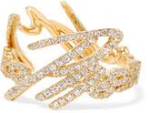 Stephen Webster Tracey Emin More Passion 18-karat Gold Diamond Ring - 6