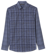 Vince Camuto Mixed-Plaid Shirt