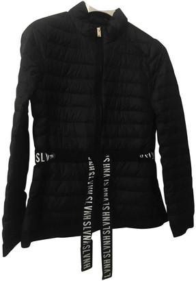 Silvian Heach Black Synthetic Coats