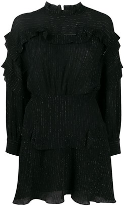 Isabel Marant Maeva ruffled mini dress