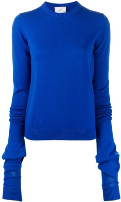 Coperni Elongated-Sleeve Pullover