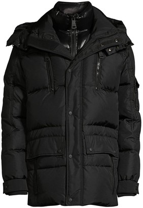 SAM. Element Quilted Nylon Down Jacket