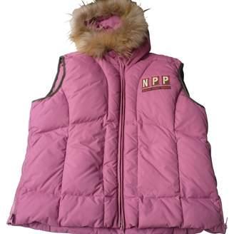 Napapijri Pink Other Leather jackets