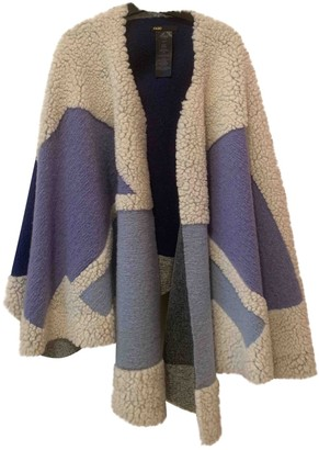Maje Blue Wool Coats