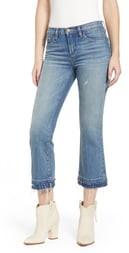 Blank NYC Step Hem Crop Jeans