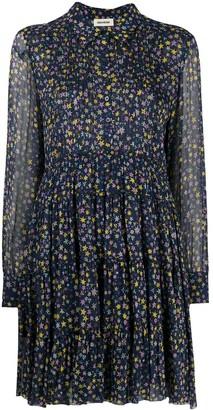 Zadig & Voltaire Star-Print Shirt Dress