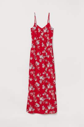 H&M Creped Maxi Dress