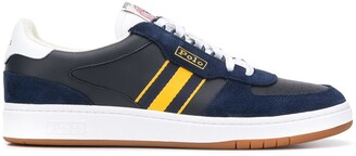 Polo Ralph Lauren Stripe Detail Low-Top Sneakers