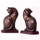SPI Cat Bookends Pair - Now 20% Off