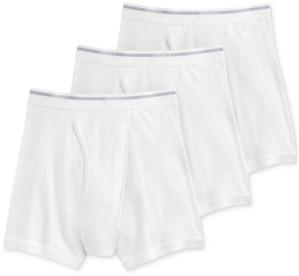 Jockey Men's Classic 3 Pack Cotton Boxer Briefs