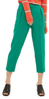 Topshop PETITE Structured Peg Trousers