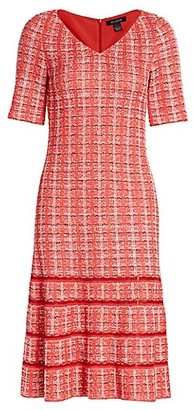 St. John Tweed Knit Dress