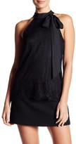Parker Tie-Neck Lace Sleeveless Blouse