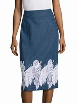Creatures of the Wind Suomi Embroidered Skirt