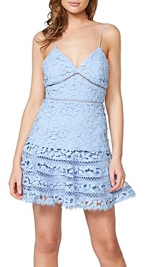 Bardot Agnes Tiered Lace Dress