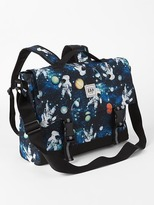 Gap Print convertible messenger bag